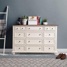 Ifurnholic Alfonso Wide 12 Drawers - Furniture Lemari Penyimpanan Multifungsi - Kabinet 12 Laci By Ifurnholic.