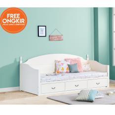 Beli Ifurnholic Alyssa Day Bed Sofa Bed Tempat Tidur Serbaguna Putih Tulang Gratis Pengiriman Pulau Jawa Dan Denpasar Ifurnholic Online