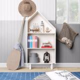 Spesifikasi Ifurnholic Big House Bookcase Rak Buku Putih Tulang Gratis Pengiriman Pulau Jawa Dan Denpasar Lengkap