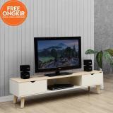 Harga Ifurnholic Tvholic 140 Meja Tv Kabinet Nature Gratis Pengiriman Pulau Jawa Dan Denpasar Terbaru