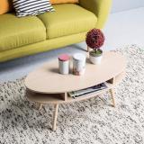 Jual Ifurnholic Pieree Oval Coffee Table Meja Sofa Natural Gratis Pengiriman Pulau Jawa Dan Denpasar Jawa Timur Murah