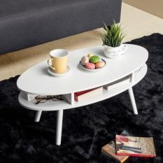 Harga Ifurnholic Pieree Oval Coffee Table Putih Tulang Yg Bagus