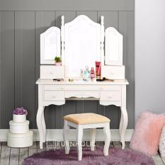 Daftar Harga Ifurnholic Stella Dresser Set Meja Rias Putih Tulang Gratis Pengiriman Pulau Jawa Dan Denpasar Ifurnholic