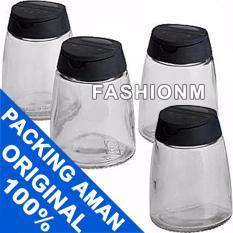 Jual Ikea 365 Ihardig Spice Jar Stoples Bumbu Kaca 4Pcs Branded Murah