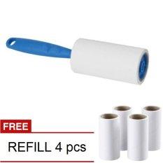 [1+1] IKEA Bastis Lint Roller with Free Refill - Roll Pembersih Baju, Kain, Furniture, Pakaian