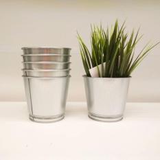 Ikea Vas Bunga Pot Baja Galvanis Anti Karat - Bintje Flower Pot Tinggi 10 Cm By Home Shopping Online.