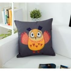 IKEA Kartun Kanvas Bantal Bantal Bantal Sofa Kantor Mobil Pinggang Cushion Bed Sandaran Bantal Cover Mengandung Core-Intl