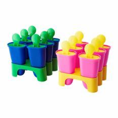 Spesifikasi Ikea Chosigt 2 Set 12 Pcs Cetakan Es Loli Aneka Warna Terbaik
