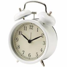 Jual Ikea Dekad Jam Meja Alarm Waker Weker Clock Vintage Design Putih Grosir