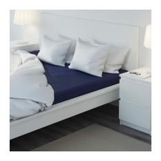 Harga Ikea Dvala Seprai Berkaret 180 X 200Cm Katun Termurah