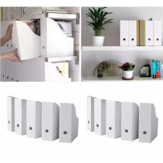 Ikea File Box Organizer 4 Pcs Tempat Penyimpanan File Buku Majalah Praktis Dan Multifungsi