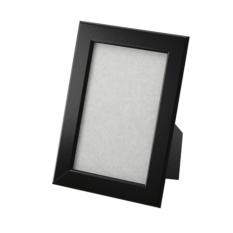 IKEA FISKBO - Photo Frame - Bingkai Foto 4R - Hitam - 10x15cm - 1 Pc