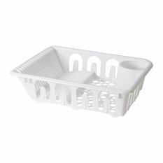 Perbandingan Harga Ikea Flundra Rak Pengering Piring Alat Makan Gelas Dish Drainer Putih Ikea Di Banten
