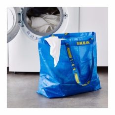 Ikea Frakta - Kantong Belanja Serbaguna Medium 36 L - Biru By Health And Beauty Solution.