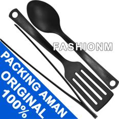 IKEA GNARP 3pcs Kitchen Utensil Set - Sendok Capitan Sudip Masak