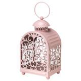 Harga Ikea Gottgora Steel Lantern For Candle Pink Yang Bagus