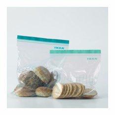 IKEA ISTAD Plastik Klip Makanan Serbaguna, 6 L dan 4.5 L Bundle, 30 Pcs