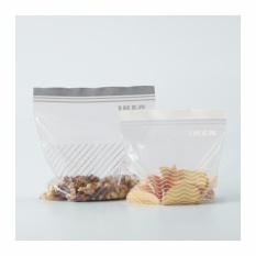 Cuci Gudang Ikea Istad Plastik Klip Penyimpan Makanana Serbaguna 2 5 L Dan 1 2 L 50 Pcs