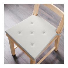 IKEA JUSTINA Alas Kursi / Bangku / Chair Pad- Alami