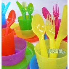 Harga Ikea Kalas Cutlery Sendok Garpu Dan Pisau Anak 18 Sets Dan Spesifikasinya