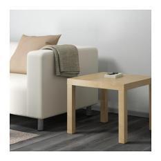 IKEA LACK IKEA LACK Meja samping minimalis, Meja kecil, Meja tamu, Meja sisi, 55x55cm