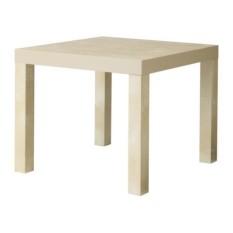 IKEA Lack - Meja Samping - Kayu Birch