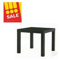 Harga Ikea Lack Meja Sisi Black Baru
