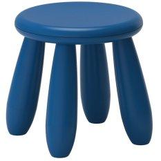 Ikea Mammut Bangku  Anak - Biru