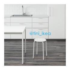 Toko Ikea Marius Bangku Bulat Putih Yang Bisa Kredit