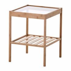 Ikea Nesna Meja Samping Tempat Tidur - Coklat