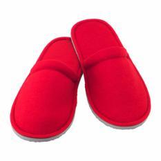 Toko Ikea Njuta Sandal Slipper Rumah Ukuran S M Merah Termurah