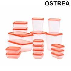 Spek Ikea Pruta Box Tempat Makanan Food Container Set Isi 17 Ikea