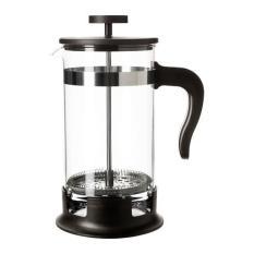 IKEA (R) - UPPHETTA 1 L French Press Coffee/Tea Maker glass, stainless steel (10x22cm)