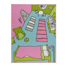 Ikea Rummet Karpet Bulu Tipis - Aneka Warna