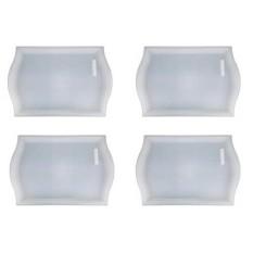 IKEA Smula Tray-[Keluarga Bungkus dari 4 Samsung Terbaru Tray, Putaran Tray, Teras, breakfast Di Tempat Tidur-Polipropilena Tembus Tembus-Internasional
