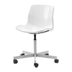 IKEA SNILLE Kursi Putar Warna Putih