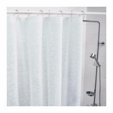 Ikea Tirai Shower Kamar Mandi Innaren Shower Curtain 180 X 200 Cm [putih] By Home Shopping Online.