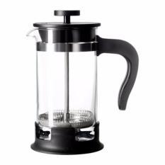 IKEA Upphetta Alat French Press Pembuat Kopi Teh Coffee Tea Maker 0.4L - Black