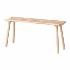 IKEA Ypperlig - Bangku Samping - Kayu Beech