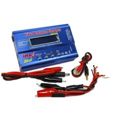 Jual Imax B6 Multifunction Intelligent Balance Lipo Battery Charger Biru Termurah