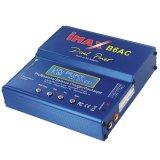 Jual Imax B6Ac Multifunction Intelligent Balance Lipo Battery Charger With Integrated Ac Adapter Blue Satu Set