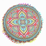 Toko Indian Mandala Floor Pillows Round Bohemian Cushion Pillows Cover Case Cushions Intl Not Specified Di Tiongkok