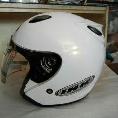 INK Helm Ink centro magenta Polos - Putih