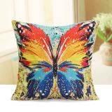 Promo Lukisan These Butterflies Bantal Penutup Sofa Tinta Katun Linen Bantal Dekorasi Rumah Internasional Murah