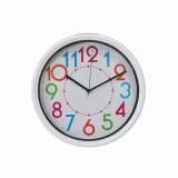 Review Terbaik Inno Foto Jam Dinding Rs 10418D Diameter 25 Cm Sweep Putih