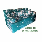 Review Inoac Sofabed 3 In 1 Uk 200 X 160 X 20 Cm