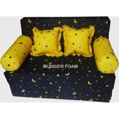 INOAC Sofabed Star Night  200 x 120 x 20 cm