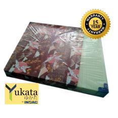 Inoac Yukata Kasur Busa No. 1 (200x180x20) Produk Terbaru Cutting Tecknologi Jepang Garansi 15 Tahun