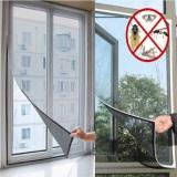 Dimana Beli Serangga Terbang Nyamuk Pintu Tirai Pelindung Lubang Kasa Jendela Yang Bersih With Pita Oem