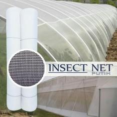 Harga Insect Net Screen Net Kelambu Jaring Penghalang Serangga Hama Lebar 1 Meter Mesh50 Putih Panjang 10 Meter Unik Original